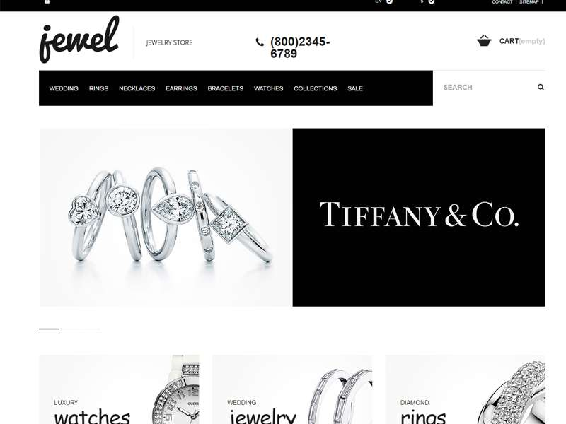 Jewel WordPress theme