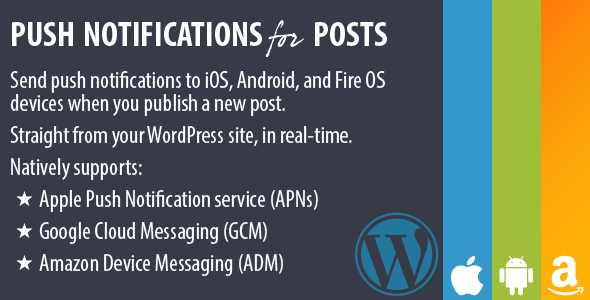 Push Notifications for Posts - CodeCanyon Item for Sale
