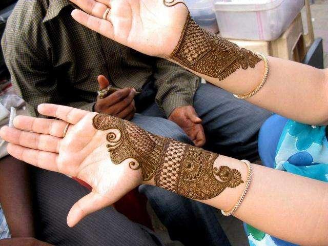 Dulhan Mehndi Design Book : Hd mehndi designs dulhan patterns images book