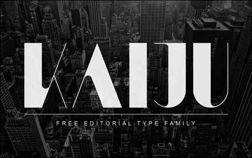 Kaiju Free Font Download image
