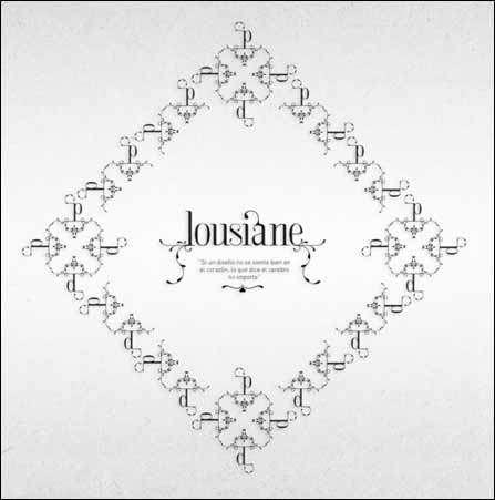 Lousiane free font image