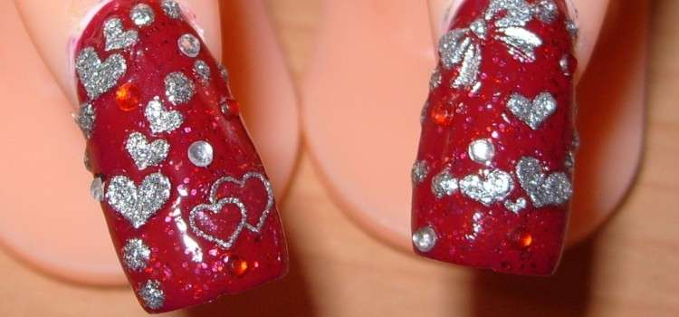 Best Nail Art Designs For Valentines Day 2014 Freakify