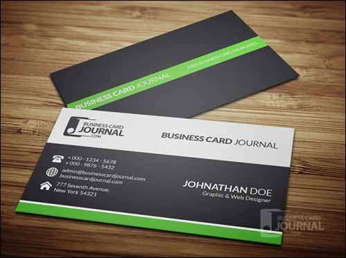 More than 25 best free psd business card templates 2014 freakify clean professional free business card template design reheart Gallery
