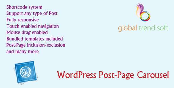 WordPress Post-Page Carousel - CodeCanyon Item for Sale