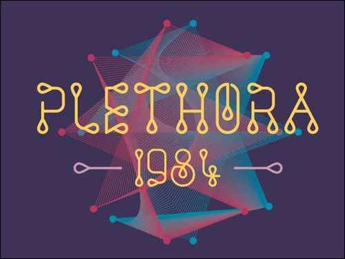 free fonts plethora image