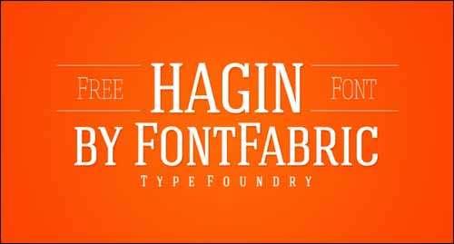 hagin free font download image