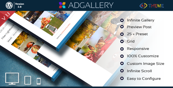 AD Gallery - Premium WordPress Plugin - CodeCanyon Item for Sale