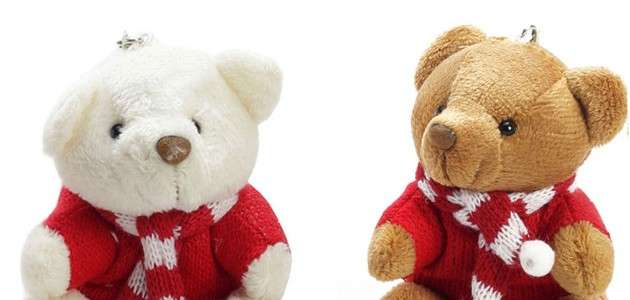 set-of-two-miniature-valentine-teddy-bear-with-sweater