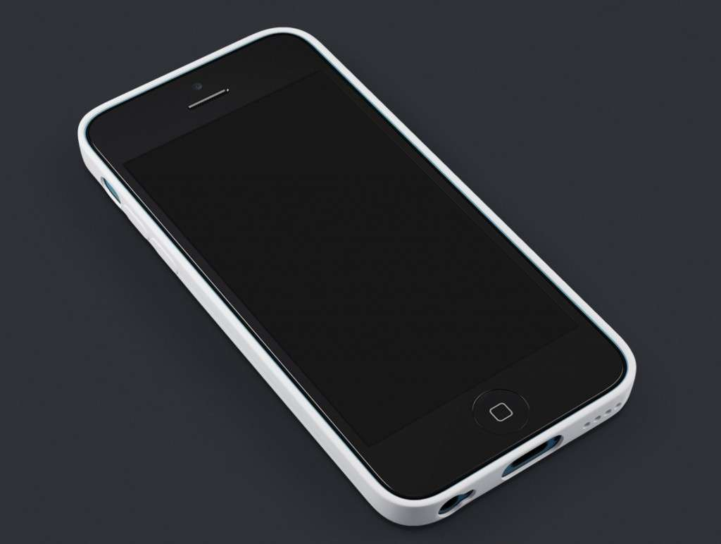 iPhone 5C Showcase Template