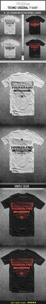 Techno Original T-Shirts - T-Shirts