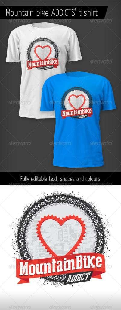 Mountain Bike Addict T-shirt - Sports & Teams T-Shirts
