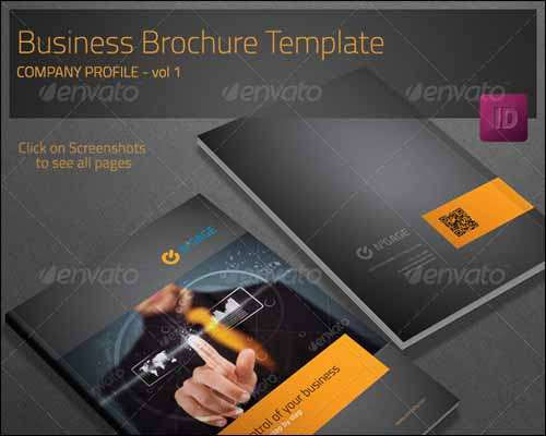 Best Premium And Free PSD Brochure Templates Freakifycom - Company profile brochure template