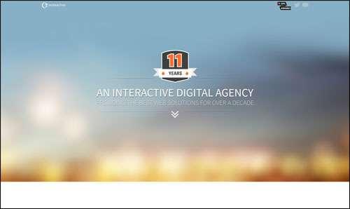 Flat Website Design Example Inspiration Etecc image