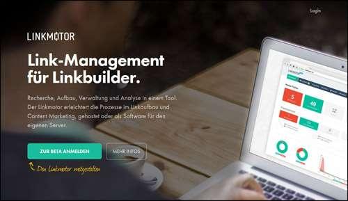 Flat Website Design Example Inspiration Linkmotor image