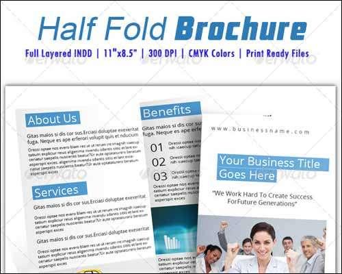 Half Fold Brochure Template Top Result 61 Luxury Half Fold Brochure Template Picture 2018 Gst3