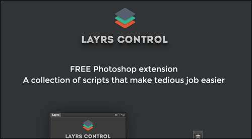 Layrs Flat Web Design Example image