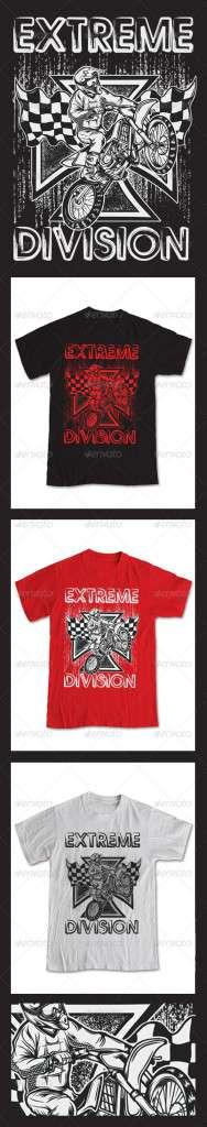Extreme Motor Cross T-Shirt - Sports & Teams T-Shirts