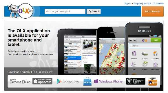OLX Classifieds Mobile App