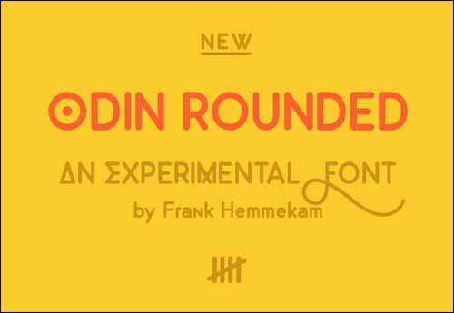 Odin Rounded Free Font Download image