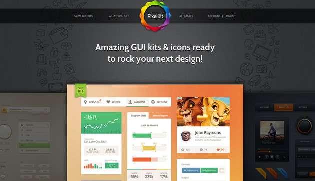 PixelKit Premium UI Kits and Design Resources image