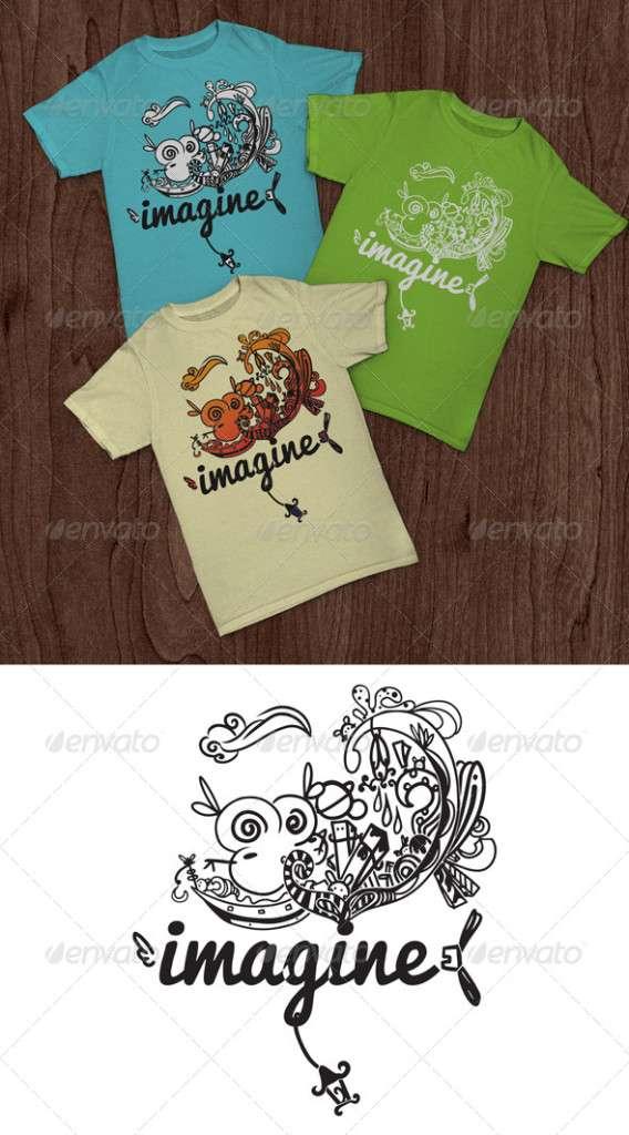 Imagine T-Shirt - Funny Designs