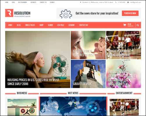 25 Best Free Responsive WordPress Themes for April 2014 : Freakify.com