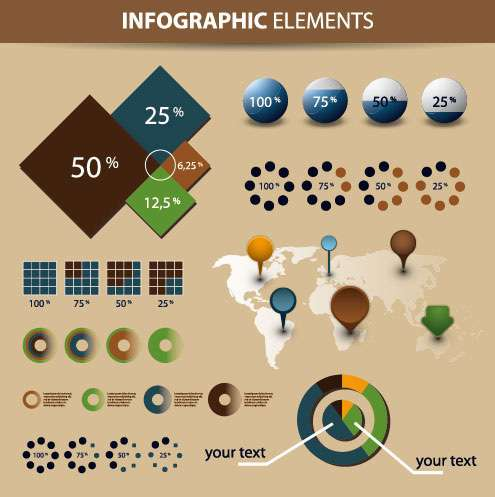Economy Infographics & Chart Design Elements