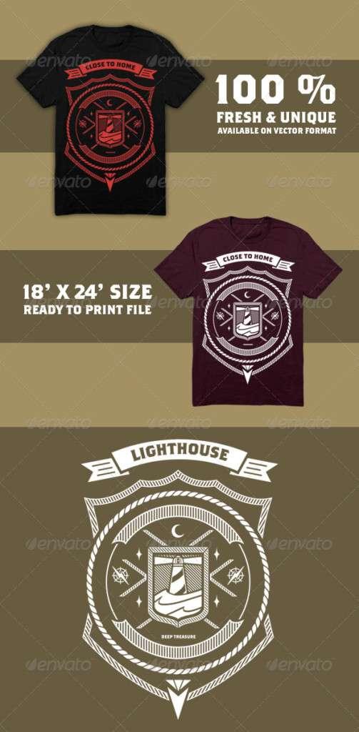 Lighthouse T-Shirt - Designs T-Shirts