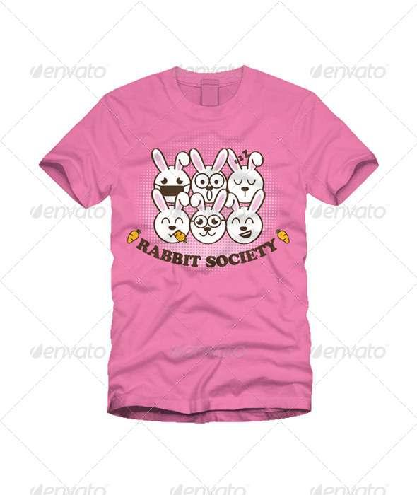 Rabbit Society - Funny Designs