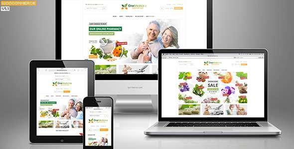 123Medicine eCommerce WordPress Theme - WooCommerce eCommerce