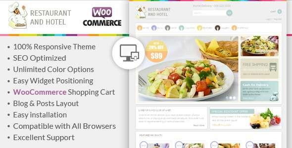 Restaurant - Responsive WooCommerce Theme - WooCommerce eCommerce