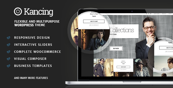 Kancing  - Fashion WooCommerce WordPress Theme - WooCommerce eCommerce