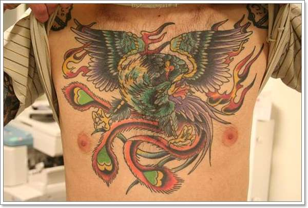 Phoenix Tattoos for Men22