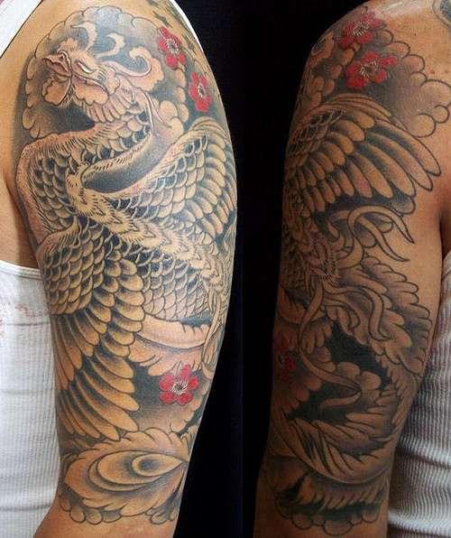 Phoenix Tattoos for Men28