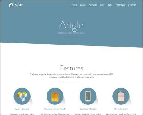 angle flat responsive bootstrap multipurpose theme image