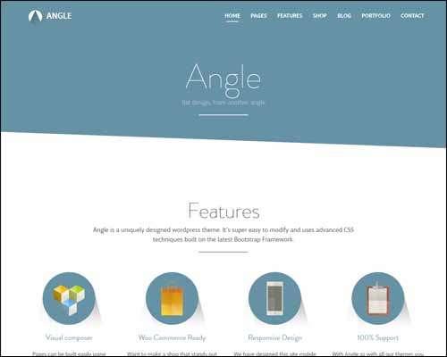 angle flat responsive bootstrap multipurpose theme image