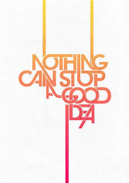 best typography design 1 21 Best Typography Designs To Inspire You