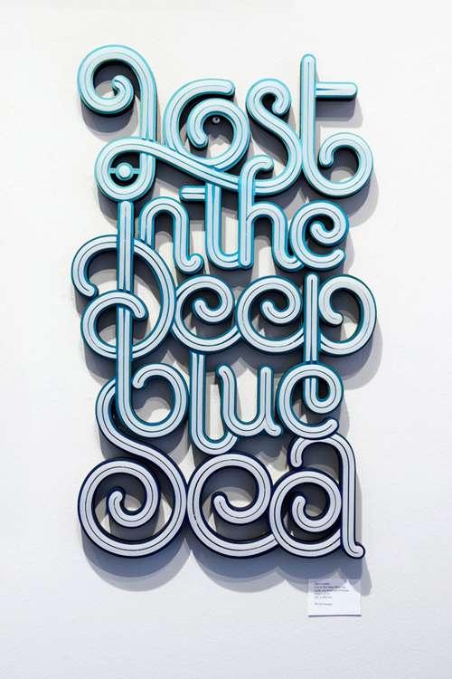 best typography design 3 21 Best Typography Designs To Inspire You