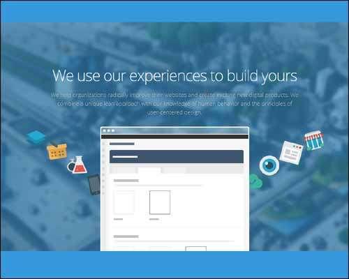 express responsive one page flat business wordpress theme image