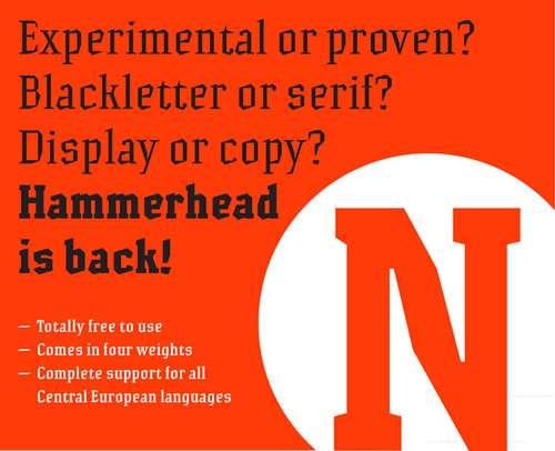 Hammerhead Fonts