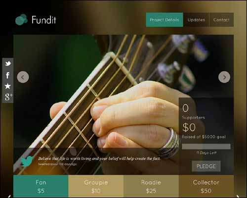 fundit responsive single page wordpress crowdfunding theme image