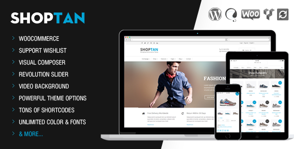 Shoptan-Multi-purpose WordPress eCommerce Theme  - WooCommerce eCommerce