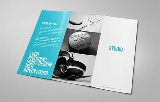20 most inspiring brochure designs of 2014. Black Bedroom Furniture Sets. Home Design Ideas