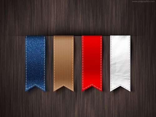 vertical-ribbons
