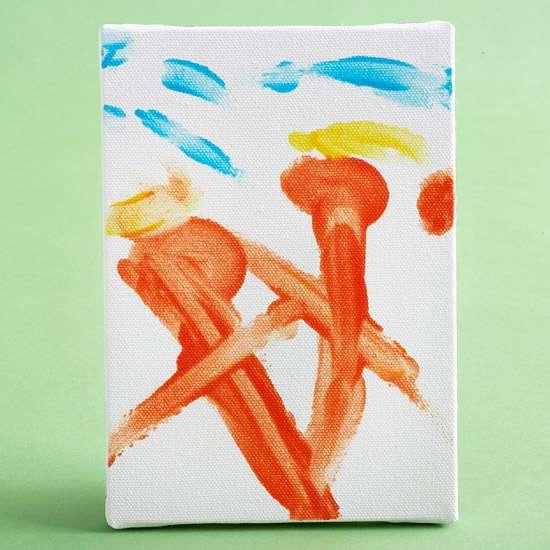 Finger-Paint Masterpiece