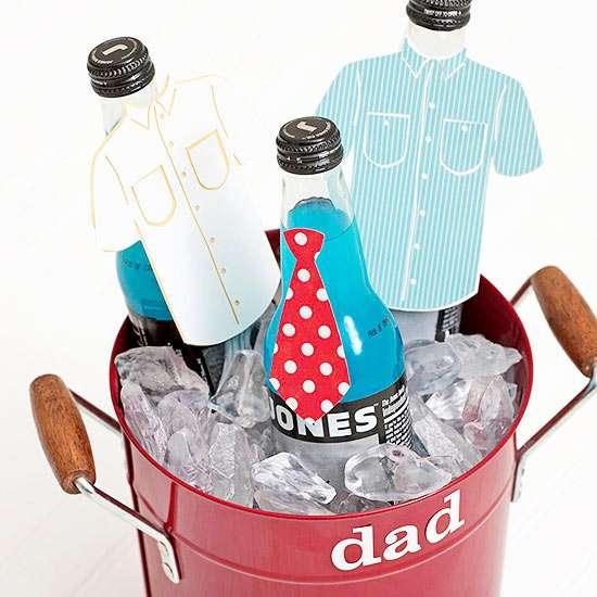 Custom Drink Bucket for Dad