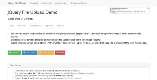 13. jQuery File Upload