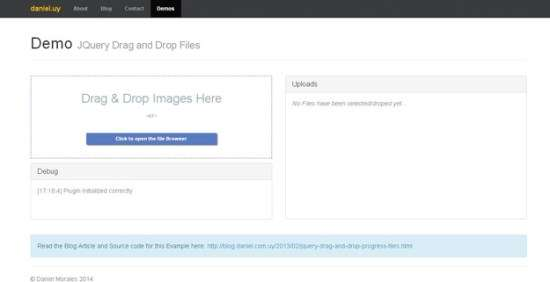 2. jQuery AJAX File Uploader