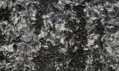 Torn Aluminum Foil