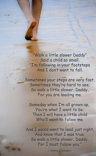 Heart Touching poem by a kid for his Father